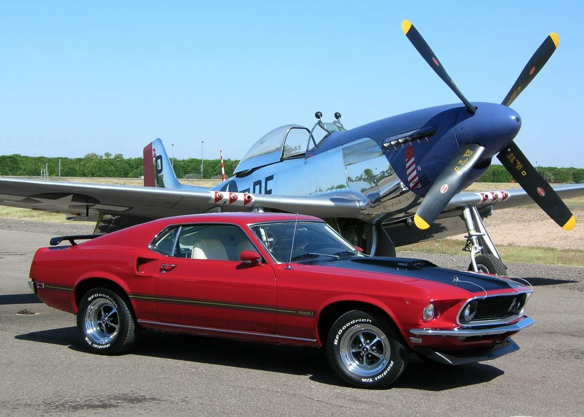 Ford Mustang Mach 1 Fastback 1969г